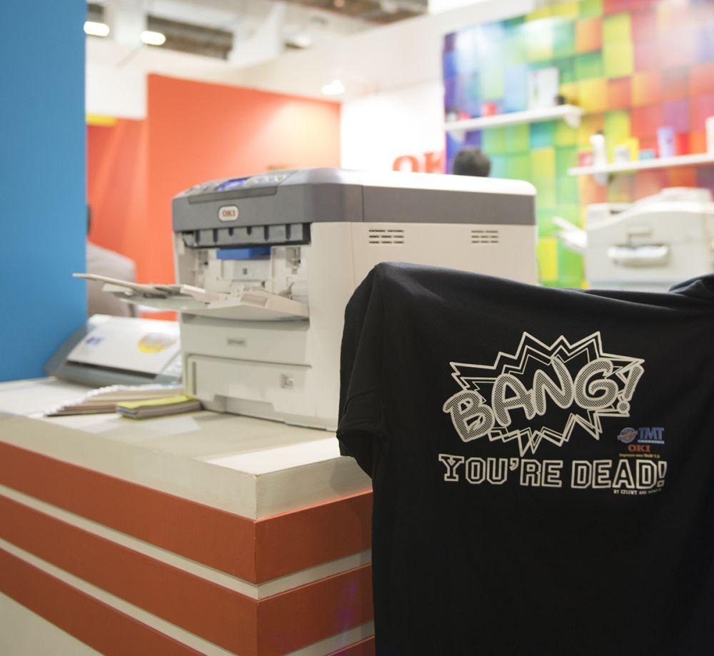 OKI apresenta impressora com toner branco na FESPA – ExpoPrint Digital 2013 748d975d41d97