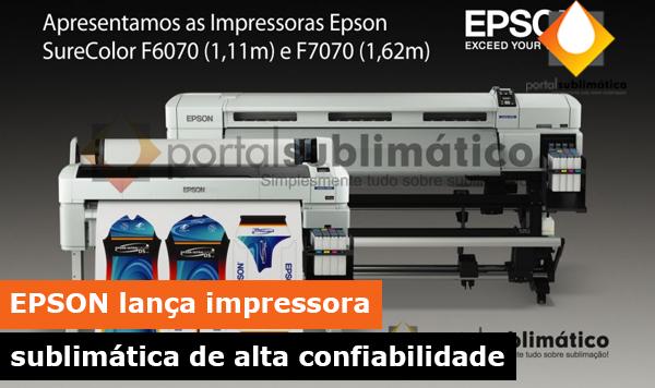epson impressora sublimatica