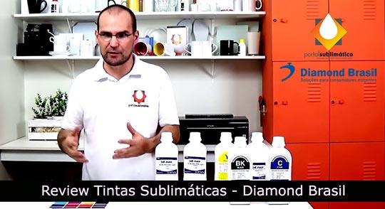 Tinta Sublimática Diamond Brasil