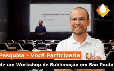 Workshop de Sublimação