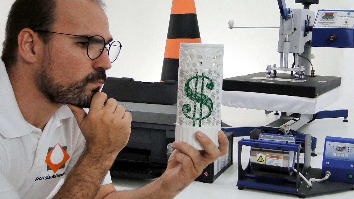 Quanto cobrar por um Produto Personalizado - Portal Sublimático