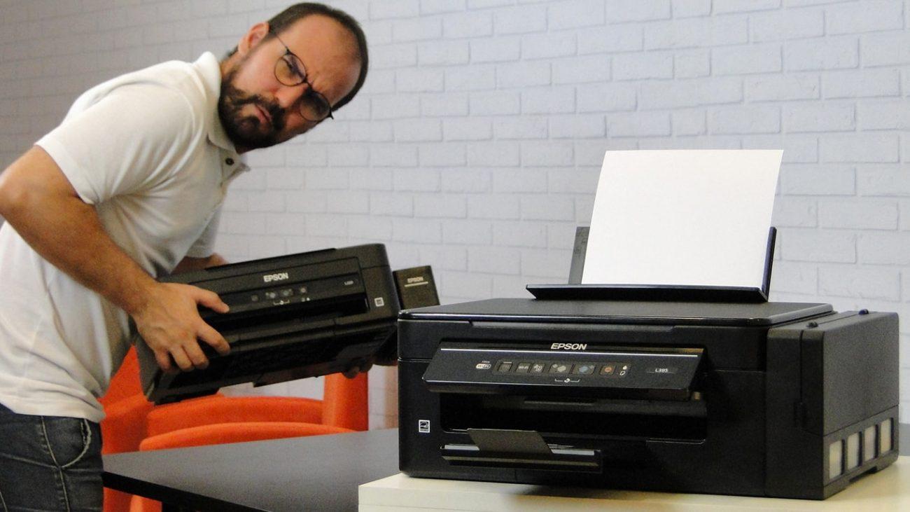 Epson L395, L380 e L120 – Impressoras para Sublimação