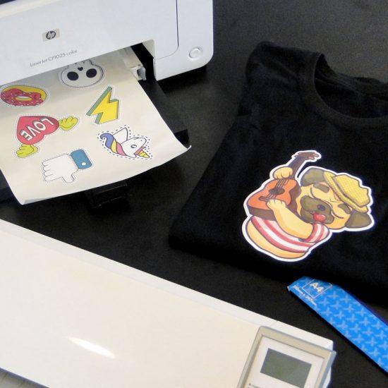 394d1fea152b1 Como fazer uma camiseta com OBM - Silhouette CAMEO - Portal Sublimático