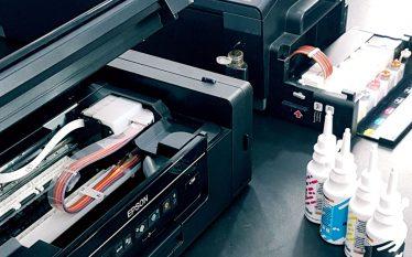Impressora Epson e Tinta Sublimática