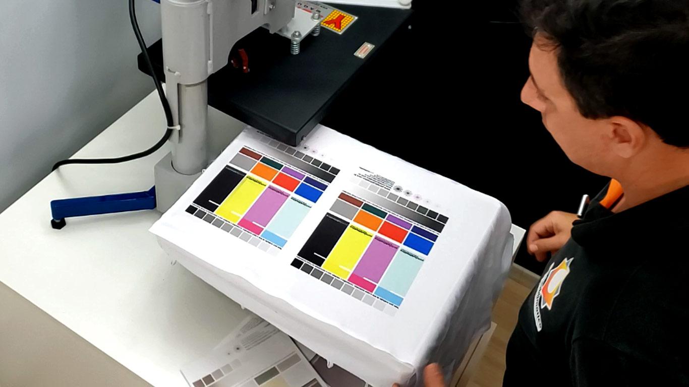 Epson F170 Sublimatica - Teste de Impressão - Portal Sublimatico