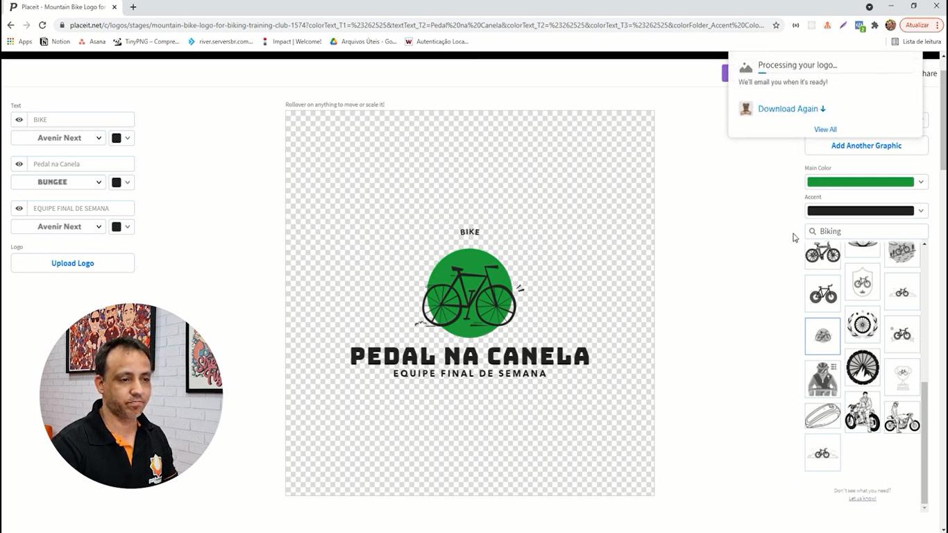 Como fazer Logotipo utilizando Placeit - Portal Sublimatico